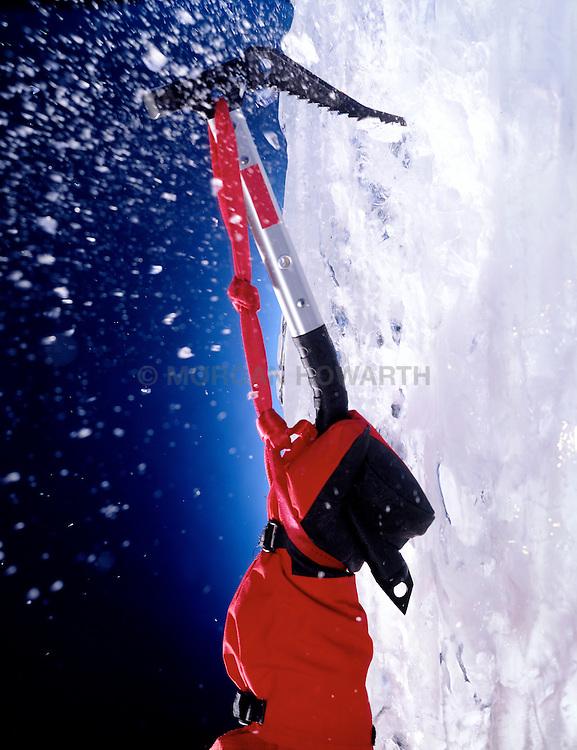Ice climbing Axe