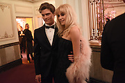 OLIVER CHESHIRE; PIXIE LOTT, The Backstage Gala in aid of the Naked Heart Foundation. Coliseum theatre. London. 17 April 2015