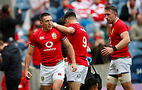 British Lions Tour to South Africa - Pre-tour international - Vodafone Lions Cup 1888 - British Lions vs Japan - Murrayfield<br /> <br /> Josh Adams of The Lions celebrates scoring a try<br /> <br /> Credit COLORSPORT/Lynne Cameron