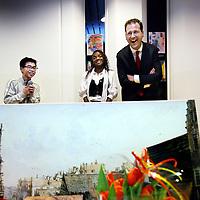 Nederland, Amsterdam , 7 januari 2013..Afscheid van Lodewijk Asscher van de stad op basis school de kraal..Foto:Jean-Pierre Jans