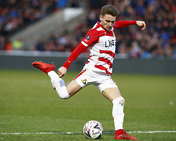 February 17, 2019 - Doncaster, United Kingdom - Doncaster Rovers' Alfie May.during FA Cup Fifth Round between Doncaster Rovers and Crystal Palace at Keepmoat stadium , Doncaster, England on 17 Feb 2019. (Credit Image: © Action Foto Sport/NurPhoto via ZUMA Press)