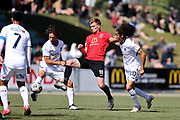 Cory Mitchell of Canterbury United.<br /> ISPS Handa Men's Premiership football match between Canterbury United and Auckland City at English Park in Christchurch on Sunday 13 December 2020. © Copyright image by Martin Hunter / www.photosport.nz