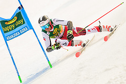 March 9, 2019 - Kranjska Gora, Kranjska Gora, Slovenia - Mathias Graf of Austria in action during Audi FIS Ski World Cup Vitranc on March 8, 2019 in Kranjska Gora, Slovenia. (Credit Image: © Rok Rakun/Pacific Press via ZUMA Wire)