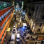 FuoriSalone2010 Zona Tortona: vista aerea di via Tortona durante gli eventi del Salone del Mobile<br /> <br /> Aerial view of Tortona street during the events of International furniture show