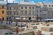 Plac Po Farze, Lublin, stare miasto