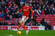 Liam Lindsay of Barnsley (6) in action during the EFL Sky Bet League 1 match between Barnsley and Charlton Athletic at Oakwell, Barnsley, England on 29 December 2018.