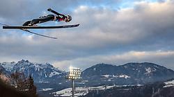 06.01.2016, Paul Ausserleitner Schanze, Bischofshofen, AUT, FIS Weltcup Ski Sprung, Vierschanzentournee, Bischofshofen, Finale, im Bild Clemens Aigner (AUT) // Clemens Aigner of Austria during the Final of the Four Hills Tournament of FIS Ski Jumping World Cup at the Paul Ausserleitner Schanze in Bischofshofen, Austria on 2016/01/06. EXPA Pictures © 2016, PhotoCredit: EXPA/ JFK