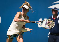 August 29, 2018 - Elina Svitolina of the Ukraine in action during her second-round match at the 2018 US Open Grand Slam tennis tournament. New York, USA. August 29th 2018. (Credit Image: © AFP7 via ZUMA Wire)
