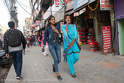 The streets of Kathmandu after our Himalayan motorcycling adventure, Nepal. Friday, November 16, 2018. Photography ©2018 Michael Lichter.