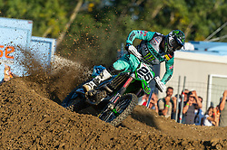 September 30, 2018 - Imola, BO, Italy - Clement DESALLE (BEL), placed third in Race 2 of MXGP of Italy in Imola. (Credit Image: © Riccardo Righetti/ZUMA Wire)