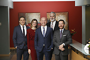 SHOT 1/8/19 12:24:21 PM - Bachus & Schanker LLC lawyers James Olsen, Maaren Johnson, J. Kyle Bachus, Darin Schanker and Andrew Quisenberry in their downtown Denver, Co. offices. The law firm specializes in car accidents, personal injury cases, consumer rights, class action suits and much more. (Photo by Marc Piscotty / © 2018)