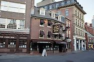 UNITED STATES-BOSTON-Union Oyster House. The oldest restaurant in the United States. PHOTO: GERRIT DE HEUS .VERENIGDE STATEN-BOSTON-Union Oyster House. Het oudste restaurant van Amerika. PHOTO GERRIT DE HEUS