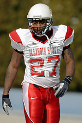25 November 2006: Alan Abrams. The Redbirds romped the Panthers by a score of 24-13.&#xD;This game was a 1st round NCAA Division 1 Playoff held at O'Brien Stadium on the campus of Eastern Illinois University in Charleston Illinois.<br />