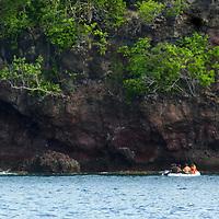 France, Martinique, Anse Mitan. Coastline of Anse Mitan, Martinique.