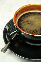 Coffee was introduced into Vietnam by French colonists in the late 19th century and the country quickly became a major exporter of coffee.  Vietnamese coffee is often roasted with butter to give it a distinctively mellow aroma though it is almost always served very strong.  Outdoor cafes are a ubiquituous part of the scene in almost any Vietnamese city and serve as neighborhood hangouts for locals.