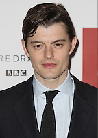 Sam Riley, BBC One's SS-GB - World Premiere, Mayfair Hotel, London UK, 30 January 2017, Photo by Brett D. Cove