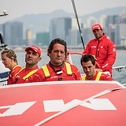 Leg 6 to Auckland, day 01 on board MAPFRE. 07 February, 2018.