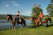 Talihina, OK - Activities at Buffalo Creek Guest Ranch for Oklahoma Today magazine