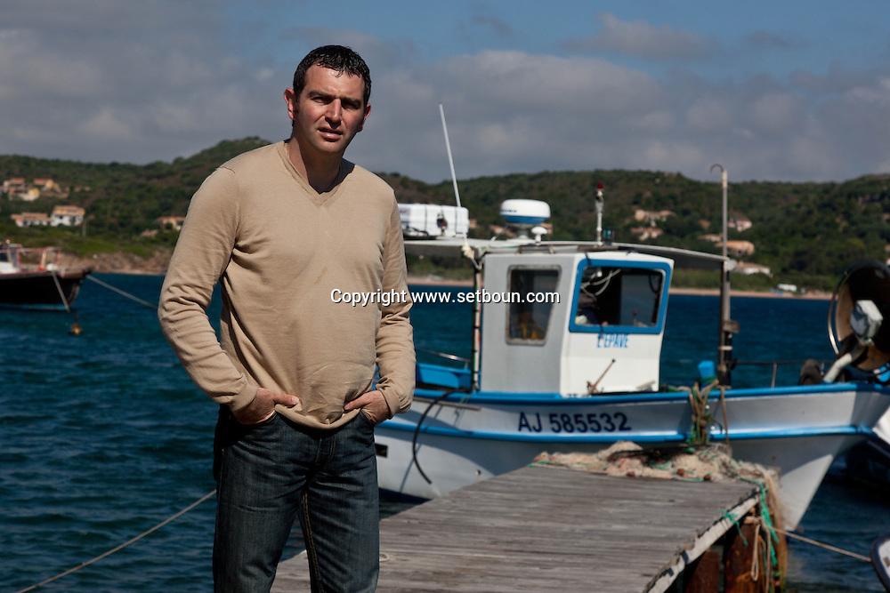 Jean charles Orsucci, new mayor of Bonifacio, corsica  /  Jean charles Orsucci, le nouveau jeune maire de Bonifacio, Corse