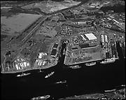 "Ackroyd 19890-2 ""Schnitzer Industries, aerials SS Nationa at International Dock. August 31, 1976"