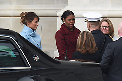 Melania Trump and Michelle Obama attend the 58th Presidential Inauguration. Trump being sworn in as the 45th president of the United States. January 20, 2017 in Washington, DC. Photo by Lionel Hahn/ABACAPRESS.COM