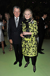 MR & MRS LEO DALY at a dinner hosted by Cartier in celebration of the Chelsea Flower Show held at Battersea Power Station, 188 Kirtling Street, London SW8 on 23rd May 2011.
