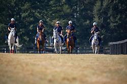 Endurance team Italia : <br /> Iacchelli Andrea (ITA) - Djamina<br /> Vaccarecci Antonio (ITA) - Eldor<br /> Laliscia Gianluca (ITA) - Leila de Saularie<br /> Lui Martina (ITA) - Jo Farouza<br /> Vaccarecci Antonio (ITA) - Eldor<br /> Alltech FEI World Equestrian Games <br /> Lexington - Kentucky 2010<br /> © Hippo Foto - Dirk Caremans