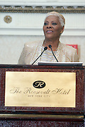 New York, NY-January 31: Recording Artist Dionne Warwick attends the16th Annual Wall Street Project Gala Fundraiser Reception with special Tribute to Berry Gordy, Jr and Motown Recordings held at the Roosevelt Hotel on January 31, 2013. The Rainbow PUSH Coalition is a progressive organization protecting, defending and expanding civil rights to improve economics and educational opportunity. (Terrence Jennings))