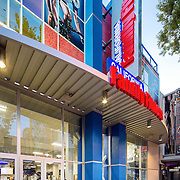 California Family Fitness on K Street Retail Infrastructure- Architectural Photography Example of Chip Allen's work.