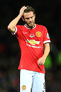 Juan Mata of Manchester United - Manchester United vs. Crystal Palace - Barclay's Premier League - Old Trafford - Manchester - 08/11/2014 Pic Philip Oldham/Sportimage