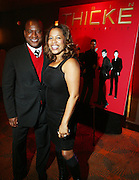 l to r: Greg Cunningham and Danyel Smith at the Robin Thicke?s Album Release ' Something Else' with Exclusive Event at Rainbow Room sponsored by Target on September 20, 2008 in New York City.