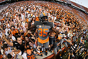 KNOXVILLE, TN - SEPTEMBER 24, 2016 - linebacker Daniel Bituli #35 of the Tennessee Volunteers  during the game between the Florida Gators and the Tennessee Volunteers at Neyland Stadium in Knoxville, TN. Photo By Craig Bisacre/Tennessee Athletics