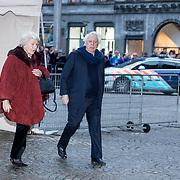 NLD/Amsterdam/20180203 - 80ste Verjaardag Pr. Beatrix, Cees Dam en Martine van Loon-Labouchere
