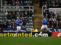 Photo: Andrew Unwin.<br /> Newcastle United v Birmingham City. The FA Cup. 17/01/2007.<br /> Birmingham's Gary McSheffrey (L) celebrates his early goal.