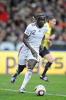 FOOTBALL - FRIENDLY GAME 2010 - FRANCE v SPAIN - 03/03/2010 - PHOTO JEAN MARIE HERVIO / DPPI - BACARY SAGNA (FRA)