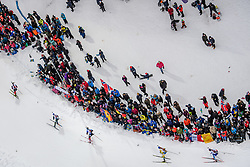 March 16, 2019 - –Stersund, Sweden - 190316 Spectators at the Men's 4x7,5 km Relay during the IBU World Championships Biathlon on March 16, 2019 in Östersund..Photo: Petter Arvidson / BILDBYRÃ…N / kod PA / 92269 (Credit Image: © Petter Arvidson/Bildbyran via ZUMA Press)