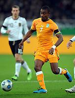 Fotball<br /> Tyskland v Elfenbenskysten<br /> Foto: Witters/Digitalsport<br /> NORWAY ONLY<br /> <br /> 18.11.2009<br /> <br /> Salomon Kalou<br /> Fussball Elfenbeinkueste<br /> Fussball Testspiel Deutschland - Elfenbeinkueste 2:2