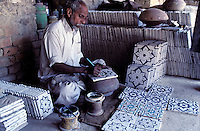 Craftsman, Ceramic, Town of Halla, Sind Province, Pakistan