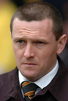 Photo: Leigh Quinnell.<br /> Watford v Luton Town. Coca Cola Championship. 09/04/2006. Watford manager Aidy Boothroyd looks on.