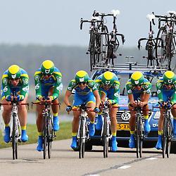 Brainwash Ladiestour Dronten Team Time Trail AA drink-Leontien.nl; Kirsten Wild; Chantal Blaak; Lucinda Brand; Jesse Daams; Lizzy Armistead; Shelley Olds