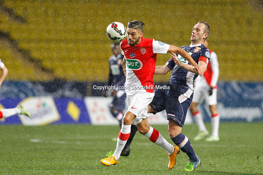 Yannick Ferreira Carrasco /  Olivier Sorlin   - 21.01.2015 - Monaco / Evian Thonon   - Coupe de France 2014/2015<br />