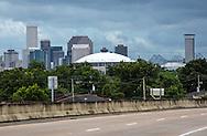 June 14, 2015, New Orleans skyline ten years after Katriana.