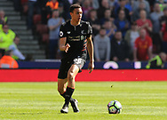 Liverpool's Trent Alexander-Arnold in action.  Premier league match, Stoke City v Liverpool at the Bet365 Stadium in Stoke on Trent, Staffs on Saturday 8th April 2017.<br /> pic by Bradley Collyer, Andrew Orchard sports photography.