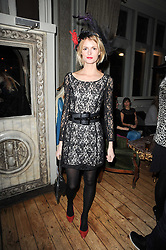 JACQUETTA WHEELER at a party to celebrate the 1st anniversary of Alice Temperley's label held at Paradise, Kensal Green, London W10 on 25th November 2010.