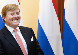 June 15, 2018 - Vilnius, LITHUANIA - 15-06-2018 Vilnius King Willem-Alexander on the last day of the 5 day statevisit to the Baltic state Lithuania. (Credit Image: © face to face via ZUMA Press)