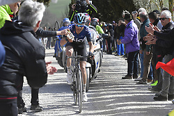 March 9, 2019 - Siena, Italia - Foto LaPresse - Fabio Ferrari.09 Marzo 2019 Siena (Italia).Sport Ciclismo.Strade Bianche 2019 - Gara uomini - da Siena a Siena - 184 km (114,3 miglia).Nella foto: Diego Rosa..Photo LaPresse - Fabio Ferrari.March, 09 2019 Siena (Italy) .Sport Cycling.Strade Bianche 2018 - Men's race - from Siena to Siena - 184 km (114,3 miles).In the pic: Diego Rosa (Credit Image: © Fabio Ferrari/Lapresse via ZUMA Press)