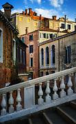 Venice, Italy,  Bridge View.