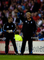 Photo: Jed Wee.<br /> Sunderland v Birmingham City. Coca Cola Championship. 09/08/2006.<br /> <br /> Birmingham manager Steve Bruce.