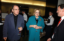 Playwright SIR HAROLD PINTER and his wife LADY ANTONIA FRASER at the opening of The National Cafe and an exclusive private view of the National Gallery's Valazquez Exhibition, at The National Gallery, Trafalgar Square, London on 26th October 2006.<br />