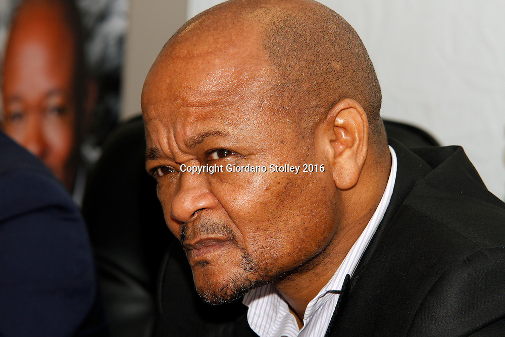 DURBAN - 17 February 2016 - The premier of South Africa's KwaZulu-Natal province, Senzo Mchunu, speaks at a press conference where he revealed that more than 13,000 government employees had yet to pay back their student loans to the National Student Financial Aid Scheme. Picture: Allied Picture Press/APP